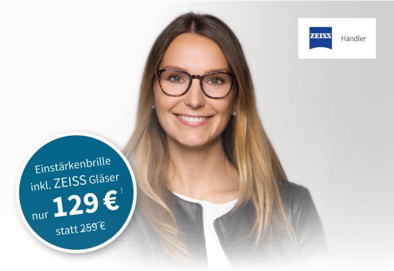 Binder Optik Komplettangebot Einstärkenbrille mit ZEISS Gläsern